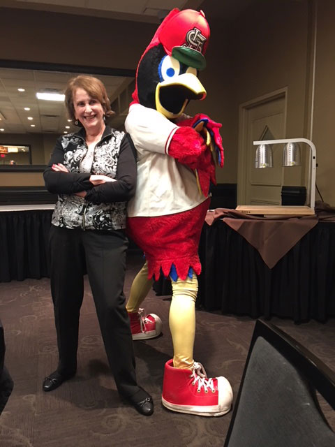 Ginger and Fredbird